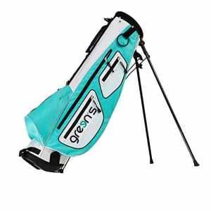 Green's Gre-S3LPT Sac de Golf Mixte Adulte, Blanc/Emeraude