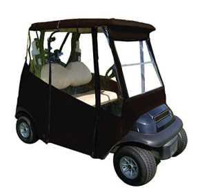 4Côtés Champion de golf Cart couvertures, Doorworks Universal Golf Cart Cover, noir