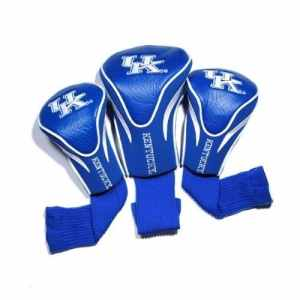 NCAA Lot de 3 couvertures de tête de contour, teamgolf-Parent, Kentucky Wildcats