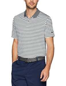 Nike pour Homme Dry Victory Stripe Polo de Golf pour Homme, Homme, Polo, Dry Victory Polo Stripe, Dark Grey/White/Black, XXX-Large Tall