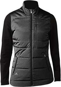 Adidas Climawarm Full-Zip Quilted Veste de Golf, Femme XS Noir