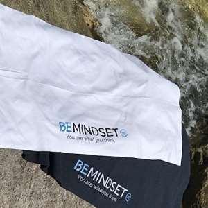 BEMINDSET – Serviette Microfibre Blanche