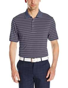 Cutter & Buck – Polo – Rayures – Manches Courtes Homme – – Large