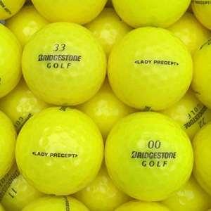 lbc-sports Balles de Golf Lady Precept AAAA AAA Jaune Lakeballs, lbc-6015-var-25-200, Jaune, 100 Bälle