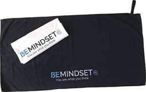 BEMINDSET – Serviette Microfibre Noire