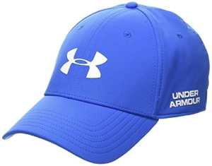 Under Armour – Men's Golf Headline 2.0 Cap – Casquette de golf – Homme – Bleu (Mediterranéen) – Taille: M-L