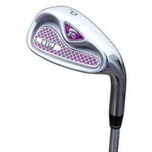 Zhangcaiyun-Sports Clubs de Golf Clubs de Golf Pink pour Femmes Fers débutants Putter Stable Long 4/5/6/8/9 / p/s Coins de Sable de Golf (Couleur : Carbon Rod, Taille : P)