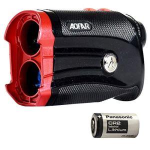 AOFAR Télémètre de Golf G2 – Deux décimales 6X Télémètre Laser étanche avec Pente, Vibration pulsée, Sac de Transport, Compatible avec Batterie Panasonic, Emballage Cadeau