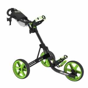 Clicgear 3.5 tolley-gris/vert – 3 roues-push-cart-chariot