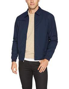 Greg Norman Drift Full Zip Jacket Veste Homme, Bleu Marine, Moyen
