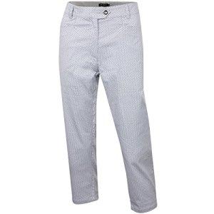 Island Green IGLPNT1818 Ladies Mid Length Pant Pantalons Femme, Silver Grey/Black, 40