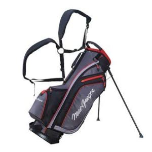 MacGregor MT Sac de Golf pour Homme Gris/Noir/Rouge 22,9 cm