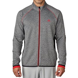 adidas AE9299 Veste Homme, Black Heather, FR : M (Taille Fabricant : M)