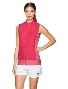 adidas Golf pour Femme Rangewear Gilet, Femme, Energy Pink HTR/Energy Pink
