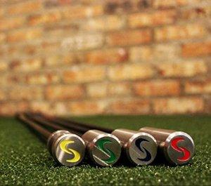 Brand-new authentic merchandise. Article. SuperSpeed Golf Coaching Swing de Golf Système d'entraînement 4PC Ensemble de l Tempo Trainer
