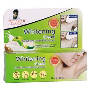 HANO ning Naturelle Aisselle Forte crème blanchissants 50 ML Genou Elbows Diluez Mélanine ning Lotion pour Le Corps T7