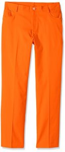 Puma pour garçon Golf Pantalon 5Poches pour garçon JR, Orange, XL