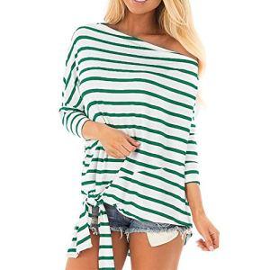 Discount Boutique T-Shirt à Manches Longues à Manches Longues pour Femmes