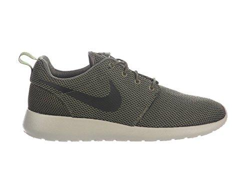 NIKE Men's Roshe One Medium Olive/Black/Sequoia/Pale Grey Nylon Running Shoes 9 D(M) US