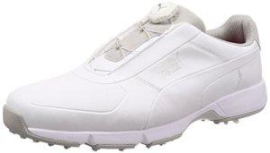 PUMA Chaussure de Golf Ignite Drive Disc pour Homme White-White 8