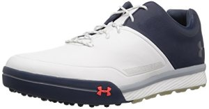 Under Armour Mens UA Tempo Hybrid 2 Chaussures de Golf – Blanc – UK 6