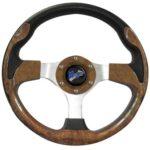 Madjax Ultra II Golf Cart Volant et Adaptateur–Choisissez à partir DE 7Couleurs, Bois, EZGO