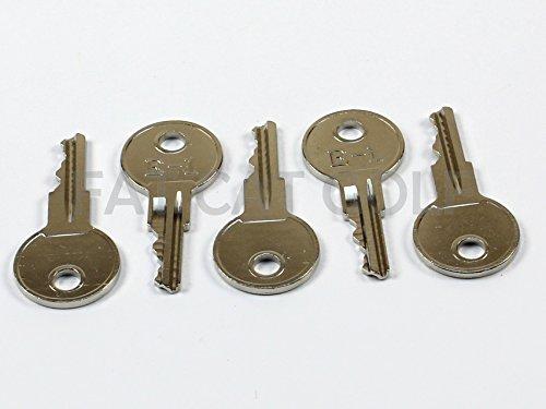 EZGO Lot de 5 clés pour voitures de golf EZGO