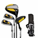 CHENSHJI Déchiqueteuses Putters De Golf pour Enfants Intérieur Et Extérieur Rubber Grip Golf Practice Club 3-12 Sacs De Golf pour Garçons Et Filles Golf pour Hommes (Couleur : C1, Taille : 5-8Age)