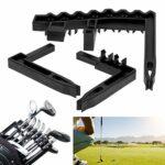 DAUERHAFT Support de Clubs durables Pratique et Portable, Accessoires de Golf, pour l'entraînement