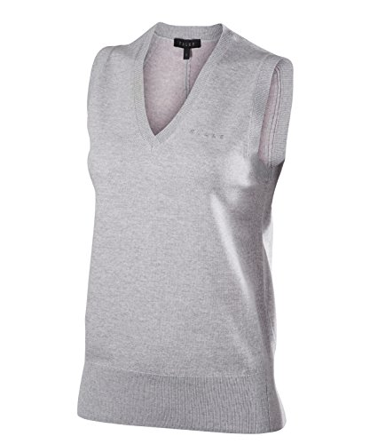 Falke 37835 Pull Femme, Gris/Heather, FR (Taille Fabricant : XL)