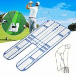 HUWENJUN123 Miroir d'entraînement de balançoire de Golf, Accessoires de Golf Entraîneur auxiliaire de Golf Swing Trainer Aid pour entraîneur et démarreur