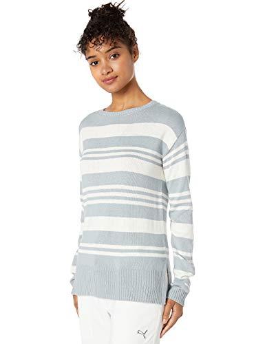 Puma Golf 2019 Women's Sweater, BRIGHT WHITE, Medium