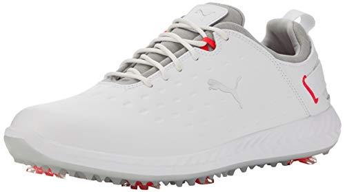 PUMA Ignite Blaze Pro, Chaussures de Golf Femme, Blanc (White-High Rise 01), 39 EU