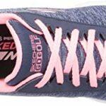 Skechers Chaussures de golf sans crampons pour femme – Bleu – Rose marine., 37 EU
