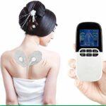 XXND Muscle Stimulator, Douleur numérique Rechargeable releveur Pulse Stimulator for l'homme Pulse thérapie électrique de Massage avec 8 Modes Qui Peut favoriser la Circulation Sanguine 9.6