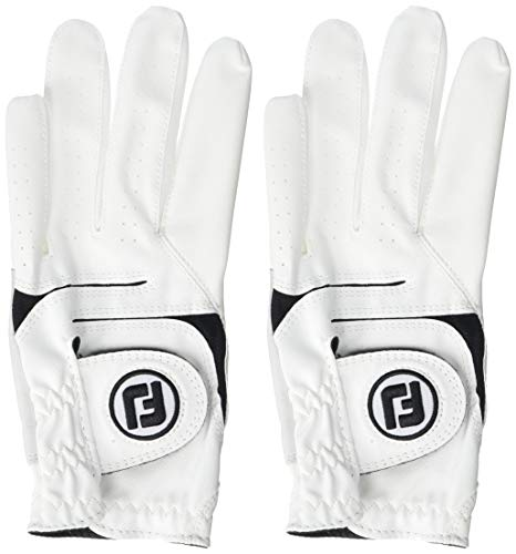 New FootJoy WeatherSof Mens Golf Gloves (2 Pack) (Medium Large, Worn on Left Hand)
