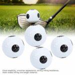 Asixxsix Balle de Jeu Double Couche de Golf, Fournitures de Golf, Balle de Pratique de Golf, pour Les Parcours de Golf des Amateurs de Golf