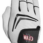 Gants de golf CaddyDaddy avec adhérence supérieure, respirants et durent 3 à 5 fois plus longtemps (taille L, portés sur la main droite)