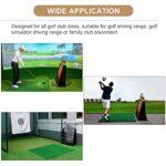 LXFA Support de Club de Golf Grande Capacité Support de Stockage de Club de Golf, Détient 13 Clubs de Golf, sur Pied en Bois Présentoir D'équipement de Golf, Garage Arrière-Cour Patio Coin
