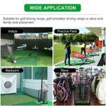 Support de Club de Golf Moderne Support de Club de Golf 9 Trous pour Hommes/ Femmes, Sur Pied Métal Support de Putter de Golf pour la Maison Bureau École, Support D'organisateur D'équipement de Sport