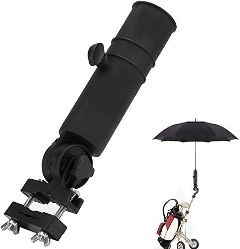 jiangwangda Support de Parapluie de Golf, Support de Chariot à Golf Universel Stand Poussette Porte-Parapluie