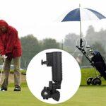 Support de Parapluie de Chariot de Golf Support de Support de Parapluie de Golf réglable pour voiturette de Golf, vélo, Poussette de bébé, Chaise de Plage de pêche, Fauteuil Roulant