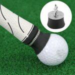 Yosoo Health Gear Ramasser des balles de Golf, Ventouse de Balle de Golf Retriever Caoutchouc Pratique de Golf Ramasser Aides à la Formation Accessoires de Club de Golf