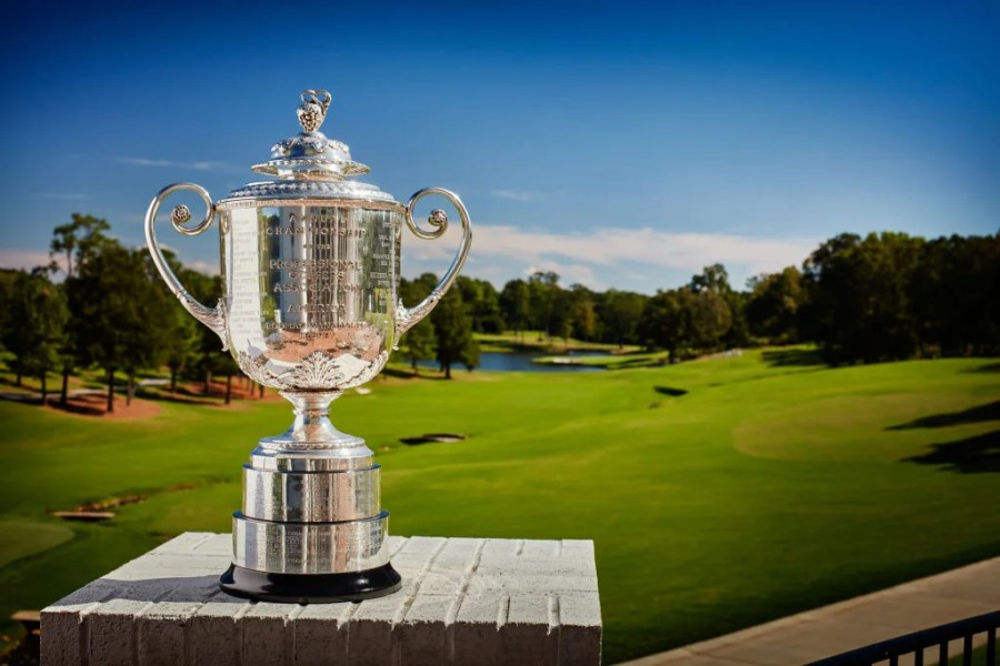 Sky Sports loses rights to broadcast PGA Championship     at Quail Hollow on TNT and CBS  There will also be some livestreaming  on PGAChampionship com  but it s not clear whether that will include full  coverage