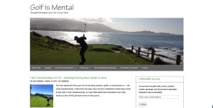 Golf Is Mental Blog