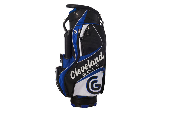 Cleveland 2015 Cg Cart Bag Black Blue Golf Accessories
