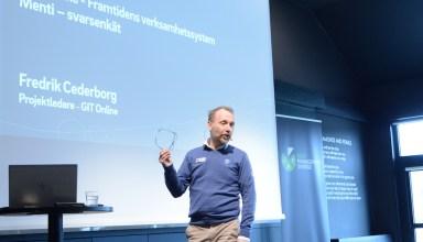 Fredrik Cederborg, Svenska Golfförbundet