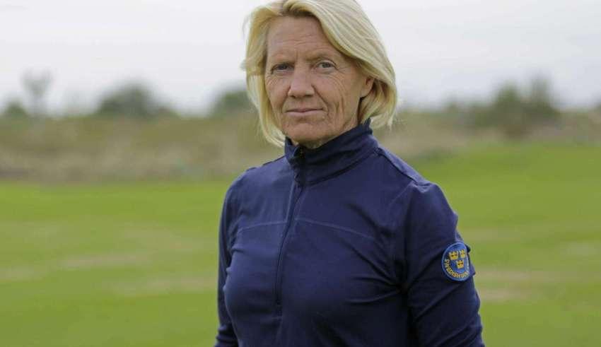 Katarina Vangdal, svensk förbundskapten i golf