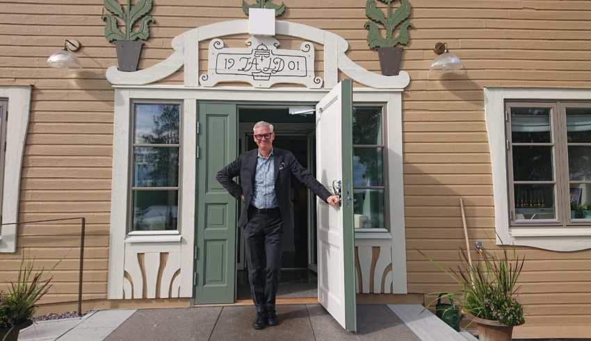 Anders Scharp, ny VD på Villa Baro på Åtvidaberg.