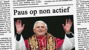 Paus als non actief